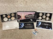 "2019-S U.S. Mint SILVER PROOF Set with Lincoln (W) ""Reverse Proof"" Penny!"