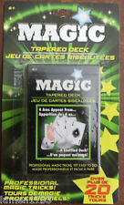TAPERED DECK MAGIC CARDS STAGE MAGICIAN OVER 20 PROFESSIONAL TRICKS EASY TO DO