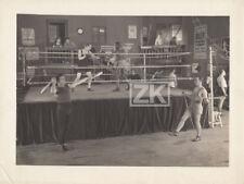 CHOU-CHOU POIDS PLUME Salle Gym BOXE Affiche Ring Jongleur RAVEL Photo 1925