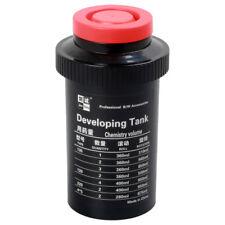Film Developing Tank 3 Spirals 120 127 135 4x5 B&W Negative Dark Room Processing