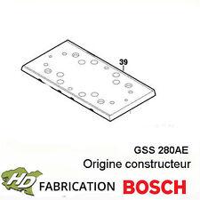 plateau bosch 2608000168 pour GSS280AE