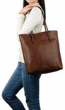 WOMEN'S LEATHER WORK TOTE SHOULDER BAG