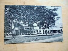 LOVELY OLD PPC: INDONESIA~MACASSAR~MAKASSAR~SULAWESI~CELEBES~ANIMATED~ca. 1920
