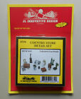 HO Country Store Detail Set 1:87 SCALE LAYOUT DIORAMA JL INNOVATIVE 334