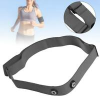 Grey Soft Fabric Heart Rate Monitor Chest Belt Strap for Polar Wahoo Garmin ZH