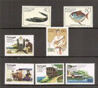 Portugal Madeira SC # 101-107 Europa, Marine Life, Transportation.  MNH