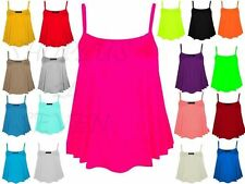 Women's Viscose Strappy, Spaghetti Strap Hip Length Tops & Shirts