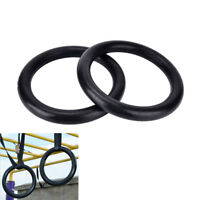 2X ABS rings Portable Crossfit Gymnastics Rings Gym Fitness Training EquipmEBAU