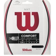 Wilson NXT 17 Gauge 1.24mm Tennis String Black