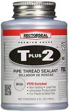 Rectorseal 23631 1/4 Pint Brush Top T Plus 2Pipe Thread Sealant