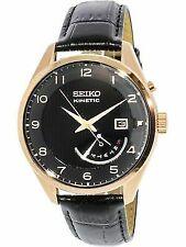 Seiko Analog Dress Mens Kinetic Black Watch SRN054P1