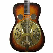 Vintage 1973 Dobro Model 66B Acoustic Resonator Guitar Sunburst