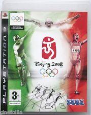 Gioco PS3 Beijing 2008 Pechino Olympic games Sony Playstation 3 ita Usato