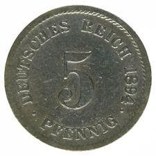 Deutsches Reich, 5 Pfennig 1894G, A10647