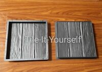 2 pcs.300x300x30 Concrete Paving Garden Path Slab Brick Plastic Floor Tile Mould