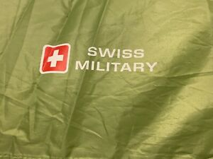 Swiss Military 2-3 Person outdoor Pop Up Tent - Green water resistant.