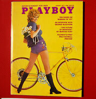 Playboy August 1971 Playmate Cathy Rowland, Vargas, Christy Miller (Very Fine)