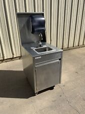 Qualserv touchless Portable hand sink hot water daycare farmers market school