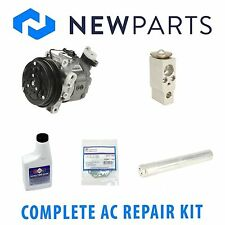 Complete AC A/C Repair KIT with Compressor & Clutch fits Subaru Forester 03-04