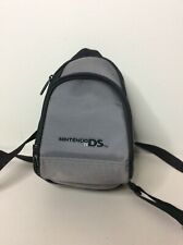 Nintendo Game Boy Advance SP Carrying Case Bag Gray Backpack