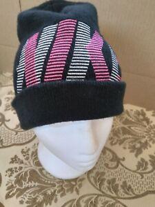 Nike  Winter Beanie Black foldover  Men's Hat Toque