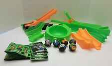 Dagedar Balls Rapid Fire Shooter Stunt Jump Track and Accessories LOT