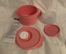 Tupperware Pink Mug and Snack Cup Plus Surprise Bonus!