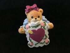 Rare Vintage Lucy & Me Girl Bear Arrow Thru Your Heart Enesco Lucy Rigg 1991
