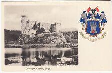 DUNVEGAN CASTLE - C W Faulkner Heraldic - Isle Of Skye - c1900s era postcard