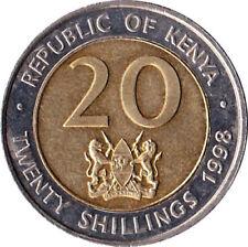 Pièces de monnaie d'Afrique de Tunisie