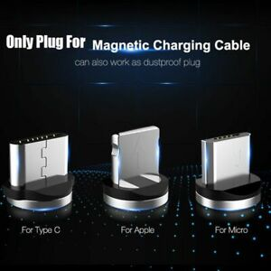 Magnetic USB Cable For Apple iPhone 5 6S 7 8 X Plus Quick Charging Cord 1M 2M