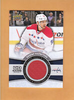 2015 16 UPPER DECK UD GAME JERSEY # GJ-EK EVGENY KUZNETSOV WASHINGTON CAPITALS