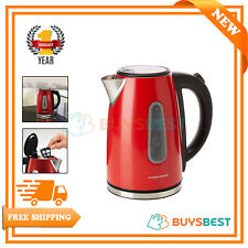 `Morphy Richards Electric Equip Jug Kettle In Red - 102774