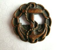 6515 – Extra Large 1930's Burwood-Syroco Anchor Open Work Button, 2 Inches