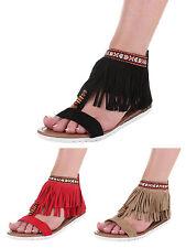 Flache Markenlose Damen-Sandalen & -Badeschuhe für die Freizeit