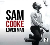 Sam Cooke Lover Man (3 Cd) Greatest Love Songs Best Of TRIPLE CD Gift Idea NEW