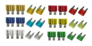 JEEP Cherokee 88- CAR BLADE FUSE REPLACEMENT KIT 5 10 15 20 25 30 AMP