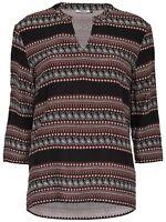 3/16 NEU ONLY Damen Blusen Shirt Tunika onlBORDEUX 3/4 TOP WVN  Gr. 38