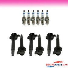 TK Fits 2007-2010 Lincoln MKX V6 3.5L Tune up Kit Plug Ignition Coil