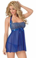 COMPLETO SEXY WOMEN BABYDOLL SENSUALE DONNA LOVE LINGERIE BIANCHERIA INTIMA CODZ
