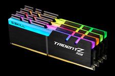 G.skill DDR4-3200 32GB(4x8G)[TridentZ RGB]F4-3200C14Q-32GTZR X299/Z170/Z270/Z370