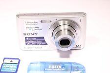 Sony Cyber-shot DSC-W510 12.1MP Digital Camera - Silver