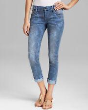 True Religion Ladies Premium Denim Jeans Monarch Audrey Rolled Slim Size 24