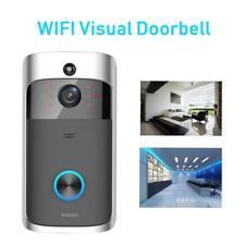 Smart Wireless Doorbell Camera WiFi Remote Video Door Intercom IR Security Bell
