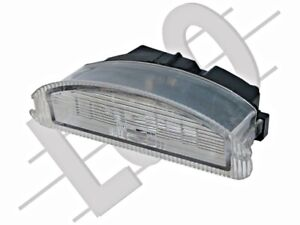 Rear License Plate Light Lamp LEFT=RIGHT fits RENAULT Twingo Clio 1998-2007