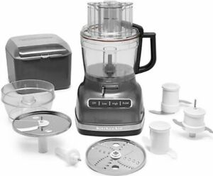 KitchenAid R-KFP1133QG 11C WIde Mouth Food Processor With Exact Slice System