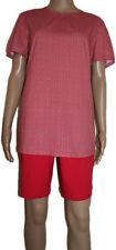 Damen Seidensticker / Schiesser  Schlafanzug Pyjama kurz SK328  Gr. 38 / M