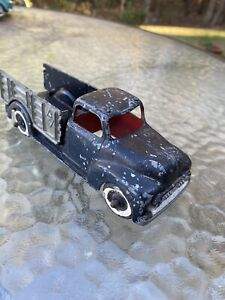 Vintage 1950's Hubley Kiddie Toys #452 Tow Truck Original Paint Made in USA