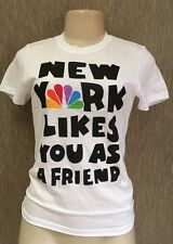 New York Likes You As A Friend Funny NBC Peacock T-Shirt