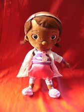 "Disney Store Doc McStuffins girl  soft toy 12"""
